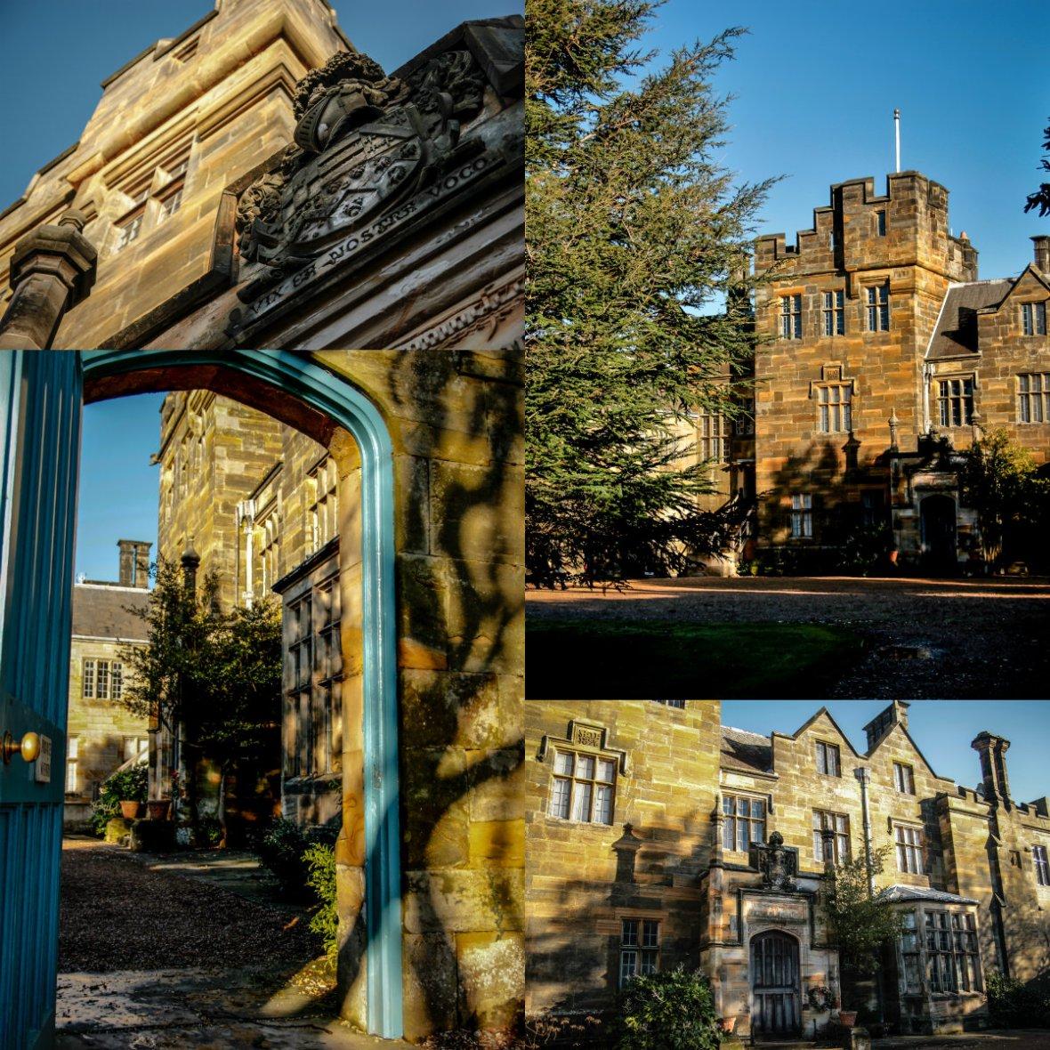 collage scotney castle2